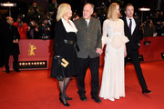 (L-R) Lena Herzog, director Werner Herzog, actress Nicole Kidman and actor Damian Lewis attend the 'Queen of the Desert' premiere during the 65th Berlinale International Film Festival at Berlinale Palace on February 6, 2015 in Berlin, Germany.