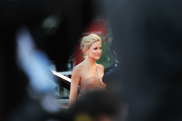 """Actress Kate Hudson attends """"The Reluctant Fundamentalist"""" Premiere And Opening Ceremony during the 69th Venice International Film Festival at Palazzo del Cinema on August 29, 2012 in Venice, Italy."""