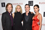 (L-R) Director/writer/actor William H. Macy and actors Felicity Huffman, Billy Crudup and Selena Gomez attend the Screening Of Samuel Goldwyn Films' 'Rudderless' at the Vista Theatre on October 7, 2014 in Los Angeles, California.