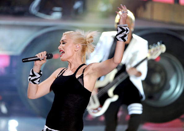 """Singer Gwen Stefani of """"No Doubt"""" performs onstage during the 2012 Teen Choice Awards at Gibson Amphitheatre on July 22, 2012 in Universal City, California."""