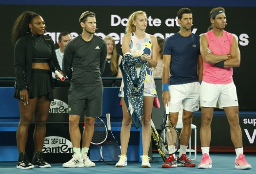 Rafael Nadal, Serena Williams, Novak Djokovic, Petra ...