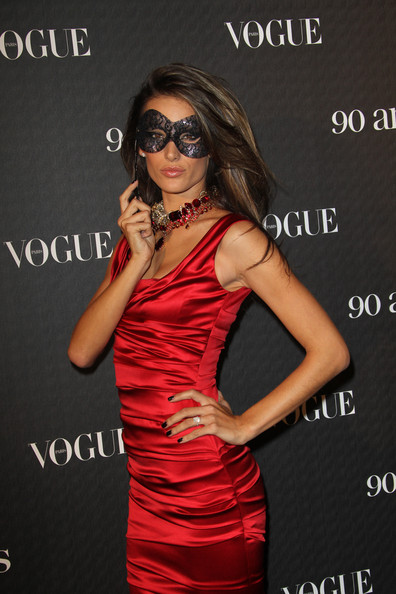 Alessandra Ambrosio attends Vogue 90th Anniversary Party at Hotel Pozzo di Borgo on September 30, 2010 in Paris, France.