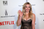 Actress Hilary Duff attends The Weinstein Company & Netflix's 2015 Golden Globes After Party presented by FIJI Water, Lexus, Laura Mercier and Marie Claire at The Beverly Hilton Hotel on January 11, 2015 in Beverly Hills, California.
