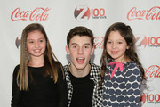 Shawn Mendes poses with fans at Z100 & Coca-Cola All Access Lounge at Z100's Jingle Ball 2014 pre-show at Hammerstein Ballroom on December 12, 2014 in New York City.
