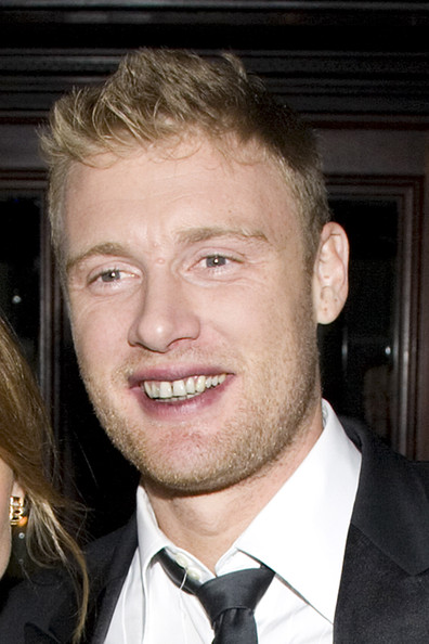 Piers Morgan With red wine staining his lips and teeth, England cricketer Freddie Flintoff leaves the Morgan Awards, held at the five star Mandarin Oriental hotel in London's swanky Knightsbridge. Flintoff attended the event with his wife, Rachel.