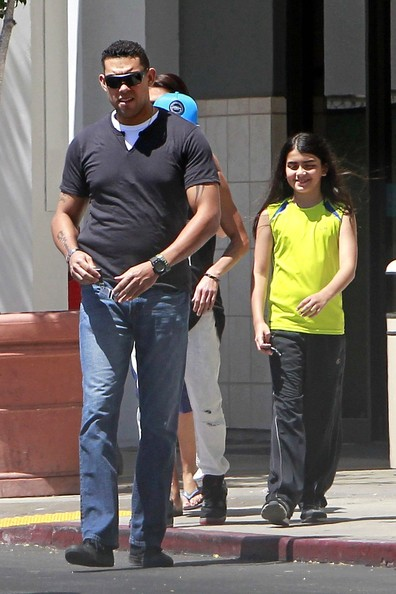 TJ Jackson takes Michael Jackson's kids Prince and Blanket shopping at the mall in Los Angeles. TJ, who reportedly receives $9,000 a month as co-guardian of the children, was discovered to have moved 76 miles away from the families Calabasas compound after Paris Jackson attempted suicide 2 weeks ago before ending up in an area hospital.