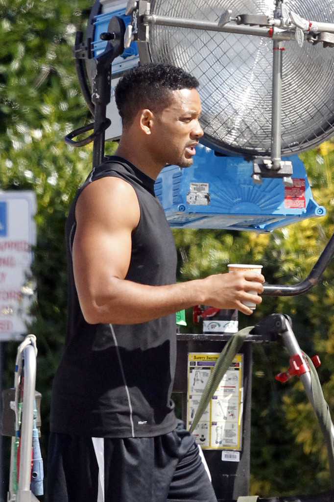 Will Smith Films Focus In New Orleans Zimbio