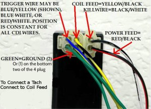 My CDI has both DC and AC wires connected why ? | It Is