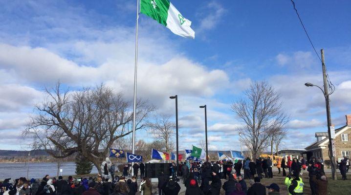 Un monument de la francophonie canadienne, à l'image de ceux de l'Ontario, pourrait voir le jour en 2017. (Photo : Courtoisie)
