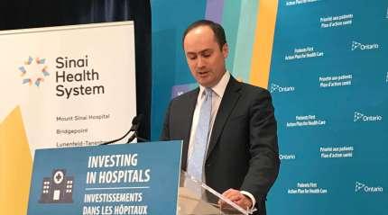 Anthony Dale, président et chef de la direction de l'Association des hôpitaux de l'Ontario. Crédit photo Jean-François Morissette