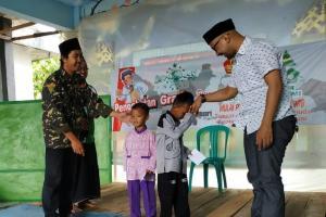 Peduli Masyarakat, Ansor Mangkubumi Beri Santunan dan Pengobatan Gratis