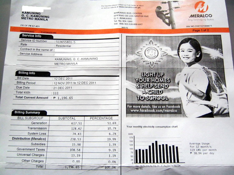 Consumer Ng Meralco, Inireklamo Ang Bill Na Umabot Sa P50,000 2