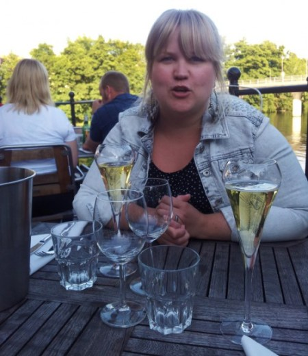 Pernilla would not stop talking ;)