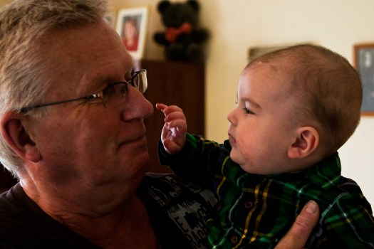 Granddad and Aiden