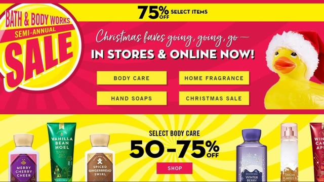 Bath Body Works New 10 Off 40 Coupon 75 Off Semi