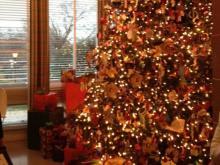 Christmas tree at the Executive Mansion