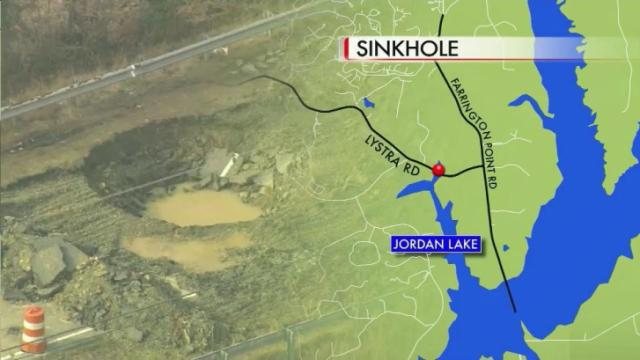 A sinkhole that has forced the closure of a road in Chatham County for three weeks is growing, and state Department of Transportation officials said it could be another two and a half months before the road is fixed.