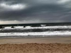 Victoria Atkins submitted this picture of Carolina Beach at the Kure Beach line.
