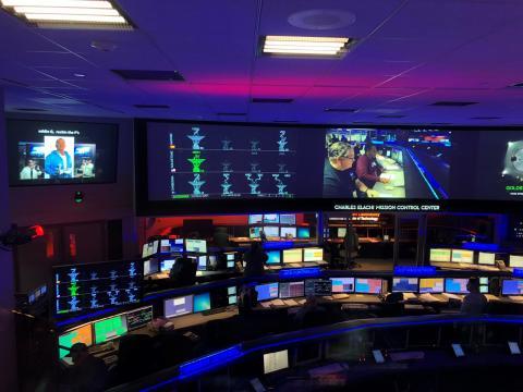 The 70m dish at NASA's Goldstone Deep Space Network Communication Facility