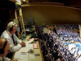 Blue devils honor retiring announcer