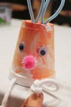 Easter bunnies & chicks cups |marmite et ponpon