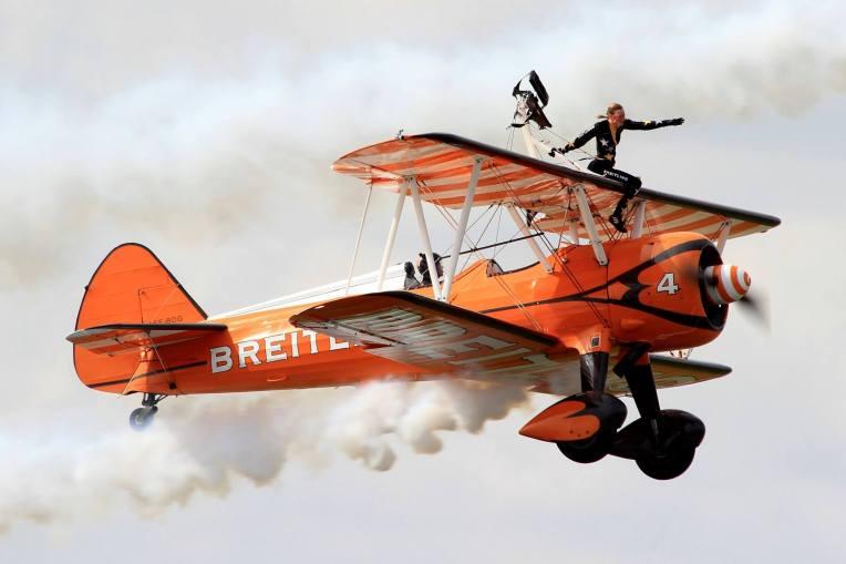 Boeing Stearman - Breitling Wingwalkers