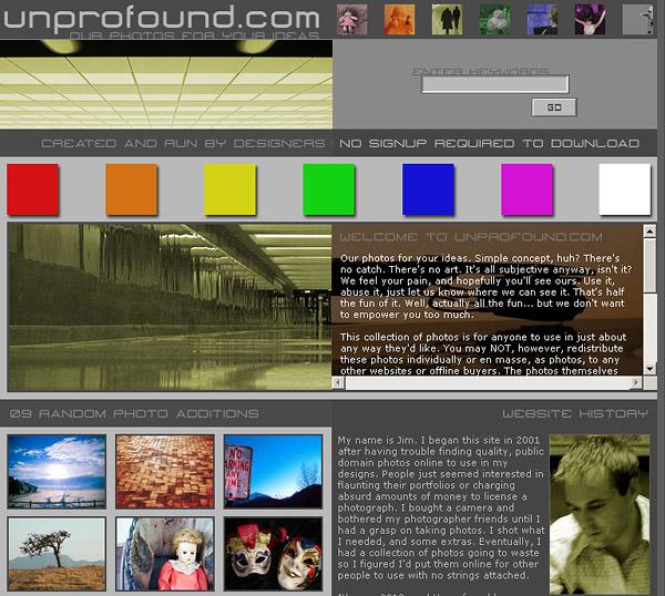 Unprofound - A Public Domain Stock Photo Collaboration
