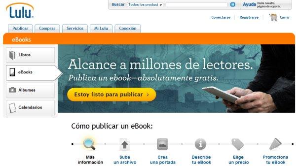 lulu vender ebooks