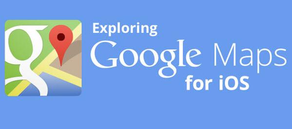 google maps por ios