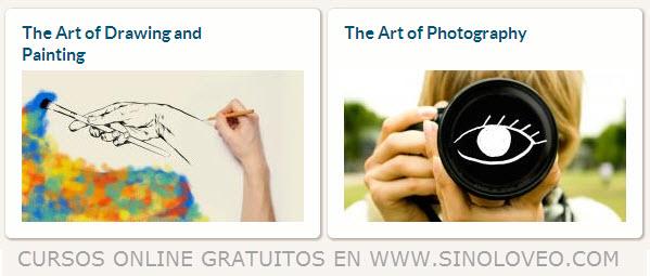 Cursos de arte y fotografías
