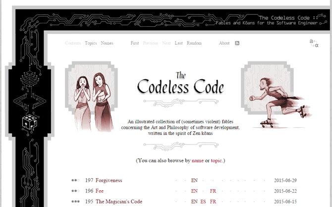 the codeless code