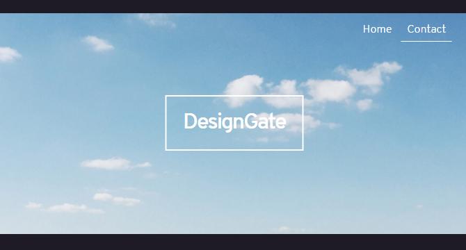 DesignGate: Coleccion De Sitios Web Para Inspiracion