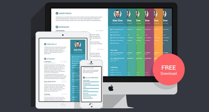Orbit: Plantilla De Curriculum Vitae En Bootstrap Y Less
