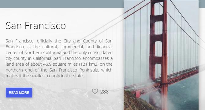 San Francisco Tarjeta Virtual Con Animacion