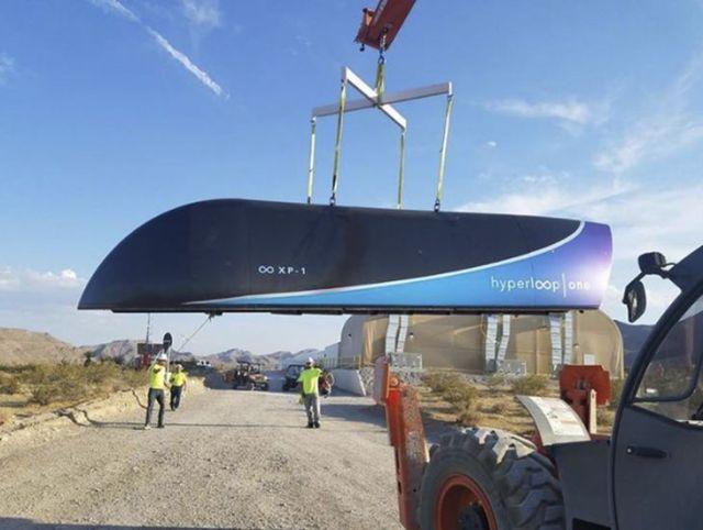 Imagen: Hyperloop One