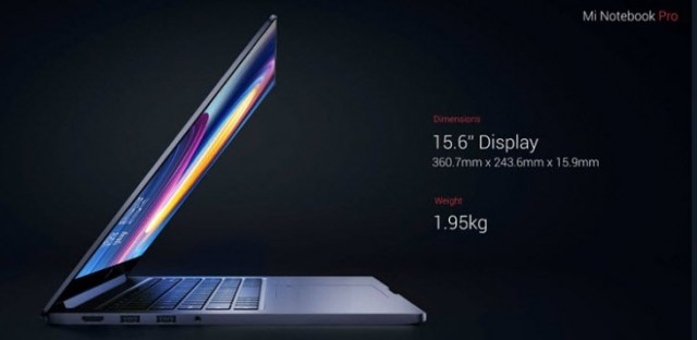 Mi Notebook Pro de Xiaomi