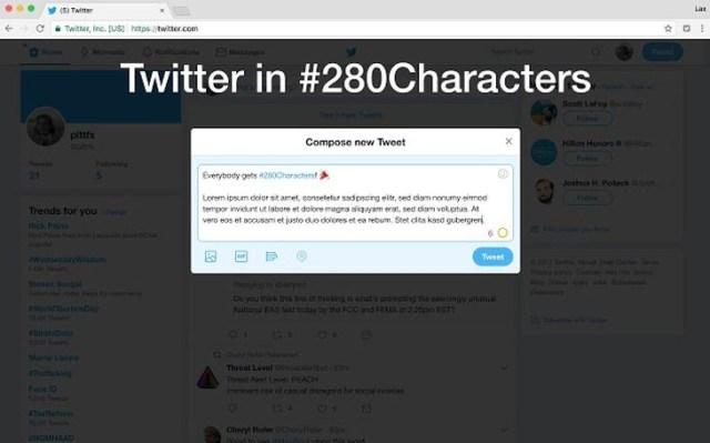 Twitteren280caracteres