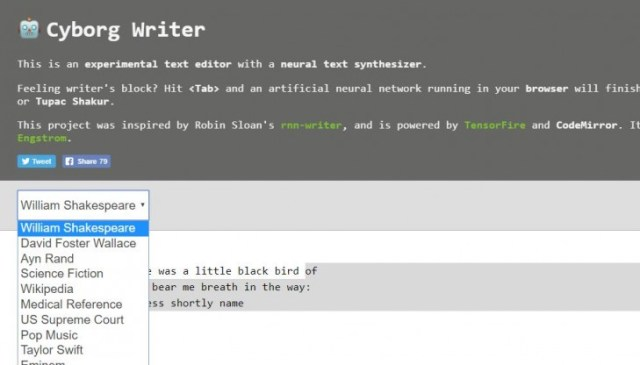 Cyborg Writer