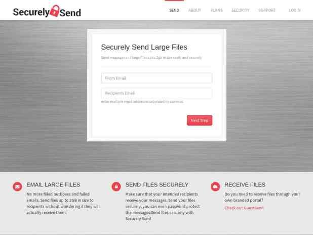 Securely Send