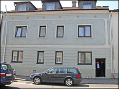A house in Amstetten, Austria where a 73-year-old man kept his daughter in the cellar for 24 years