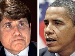 No inappropriate contact between Blagojevich and Obama