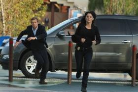 Jane and Lisbon running