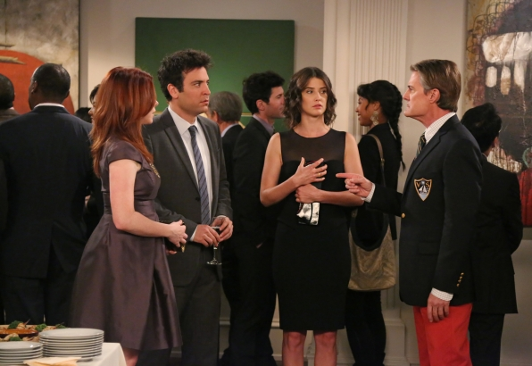 Lily, Robin, Ted, The Captain