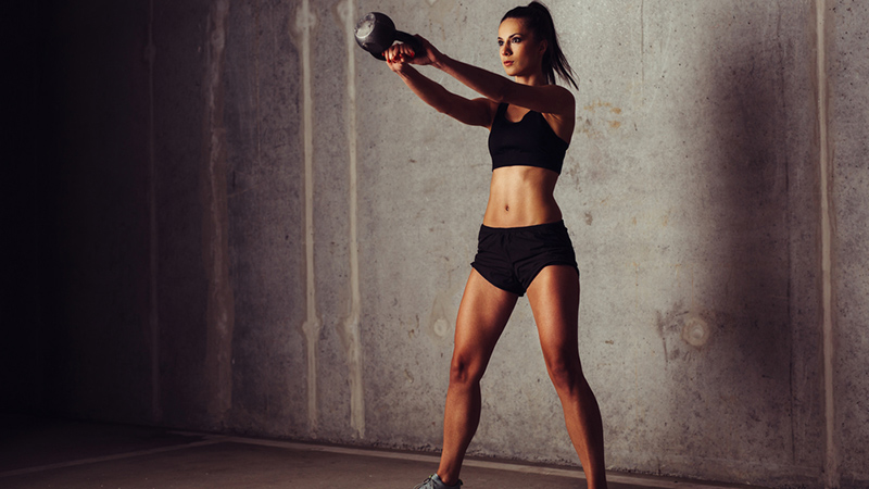 Killer Kettlebell Workout To Build A Strong Upper Body