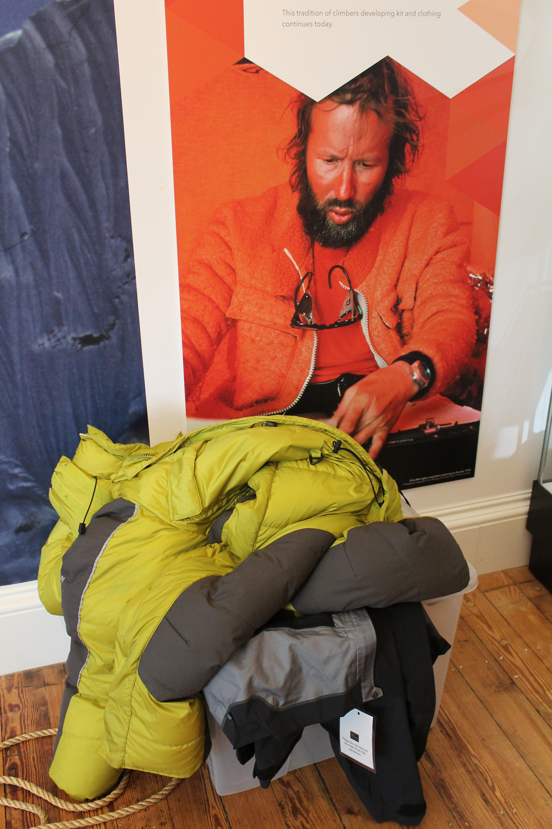 Chris Bonington Kit: The Dressing-up Box
