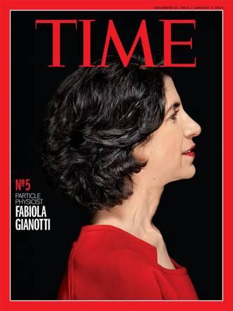 Fabiola Gianotti (fonte: Time)
