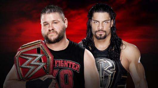 من الفائز بلقب WWE العالمي في رويال رامبل رومان رينز أم كيفين أوينز