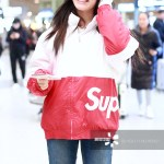 [Weibo Trending] Jelly Lin at the airport with no makeup on