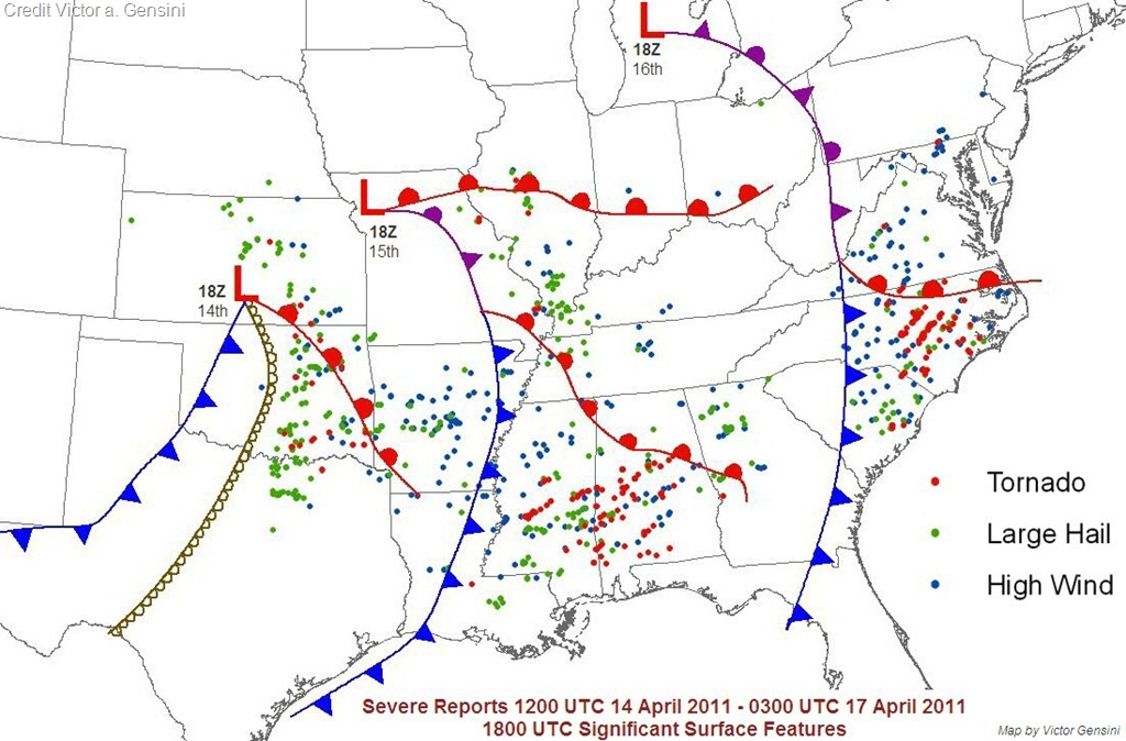 The 4 year Anniversary of the Historic Carolina Tornado Outbreak 4