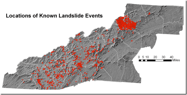 Known-Landslide-Events-Map